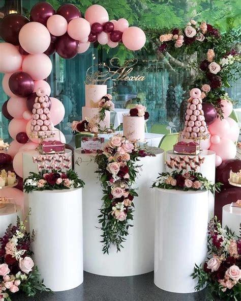 Decoración con flores naturales una tendencia para fiesta ...