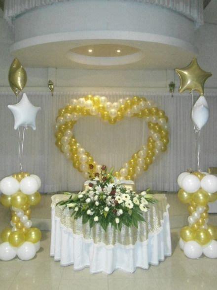 decoracion con globos bodas   Buscar con Google   Globos ...
