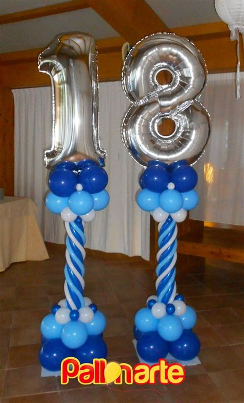 decoracion con globos para 18 anos   Decoracion de Fiestas ...