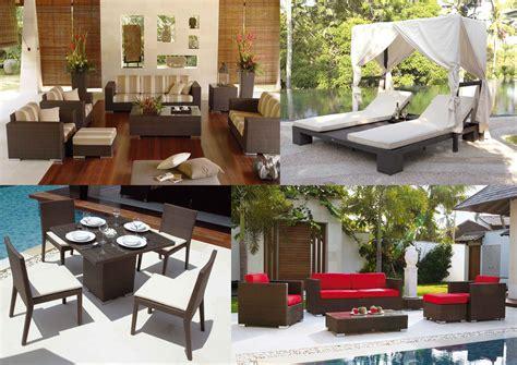 Decoración con muebles: Diseño de jardín y terrazas ...