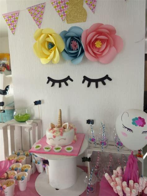 Decoración con Unicornios para Cumpleaños, Baby Shower ...
