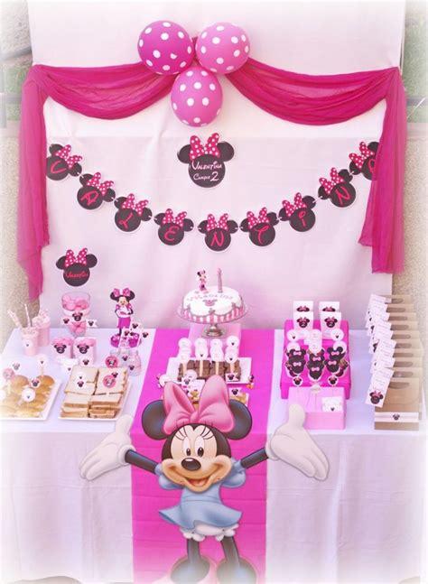 Decoración cumpleaños de Minnie Mouse! | Hazlo Especial ...
