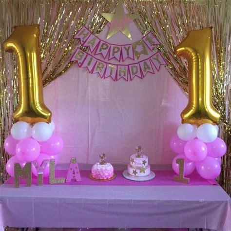 Decoración cumpleaños niña 1 año   decoracion para fiestas