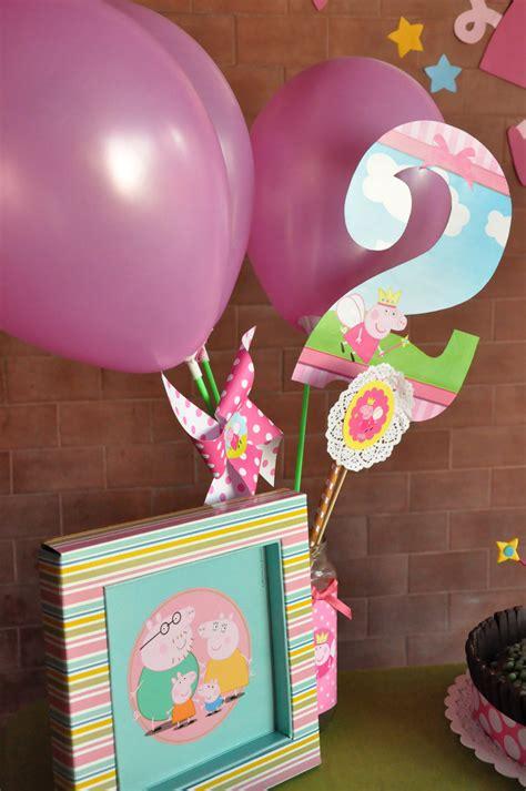 Decoración cumpleaños Peppa Pig   Chica outlet