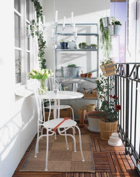 Decoración de balcones, por IKEA.