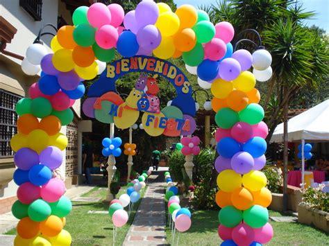 decoracion de Bienvenida con globos   FIESTAIDEAS.com