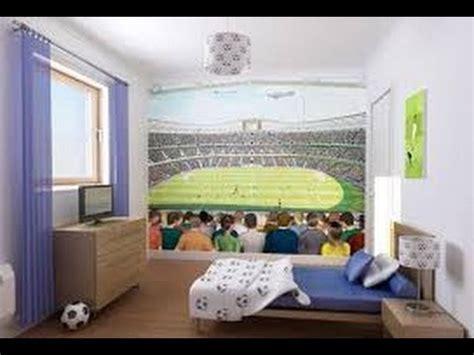 Decoracion de cuartos de futbol de niños 4   YouTube