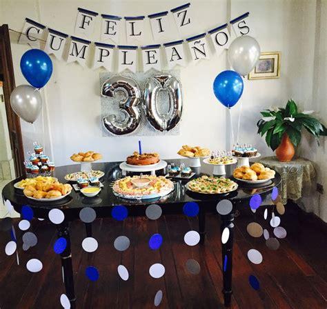 Decoración de cumpleaños 30 años para hombre ...