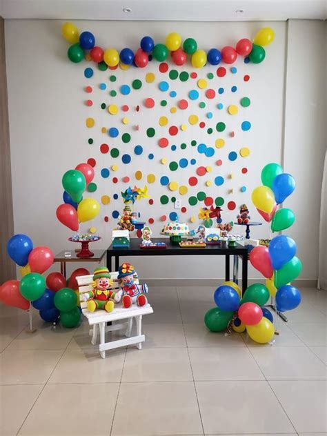 Decoracion De Cumpleaños Para Niño De 1 Año Sencilla ...