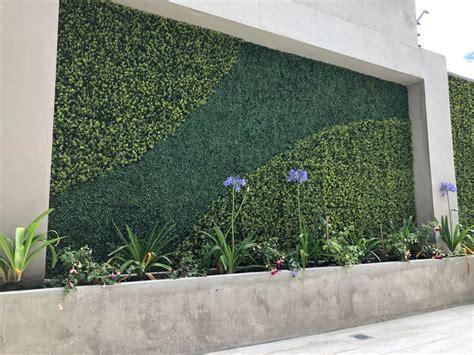 Decoración de exteriores   Jardines verticales, Muros ...