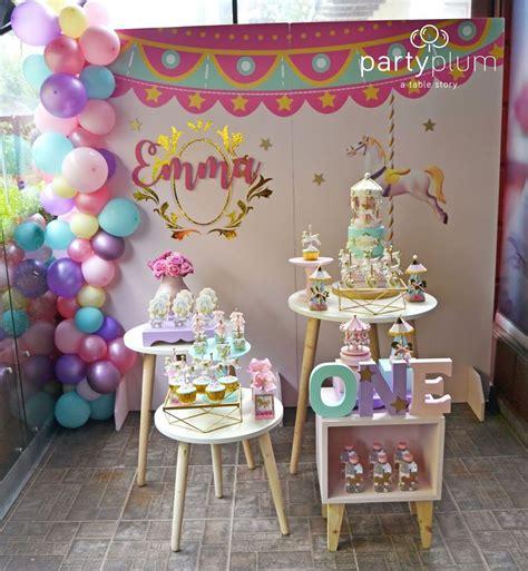 decoracion de fiesta de carrusel  12  | Ideas para las ...