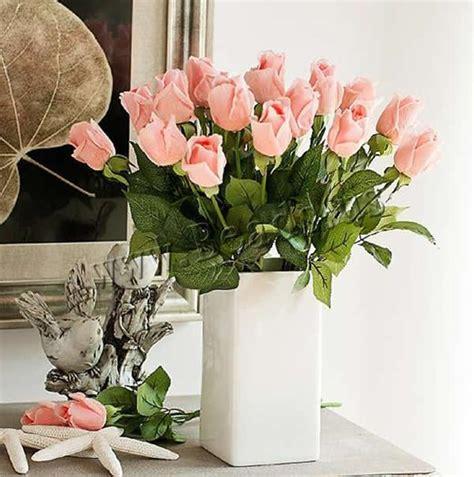 Decoración de Flores Artificiales, Caucho, con Plástico ...