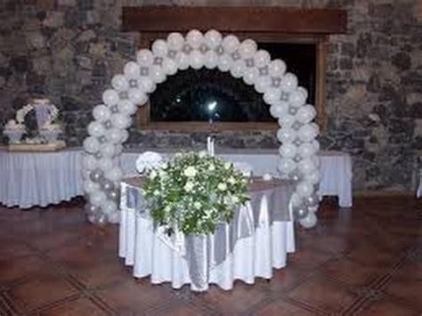 decoración de globos para bodas   YouTube