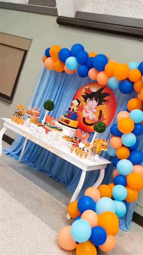 Decoración de goku en 2020   Fiesta de goku, Piñata de ...