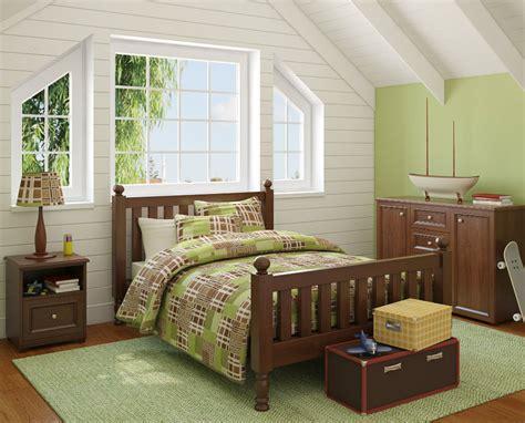Decoración de habitaciones infantiles en color verde   IMujer