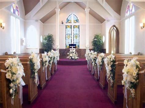 Decoracion de Iglesias para boda. Fantásticas ideas.