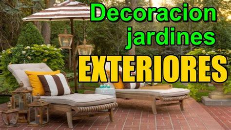 Decoracion de jardines exteriores   Como decorar jardines ...