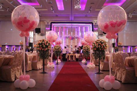 Decoracion de matrimonios con globos ideal para novios