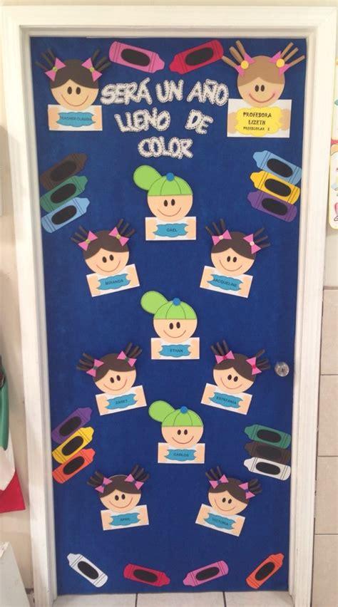 Decoracion de puerta para salon de clases | formes ...