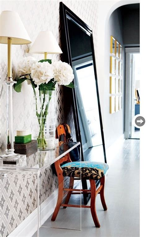 Decoración de recibidores pequeños | Entretantomagazine