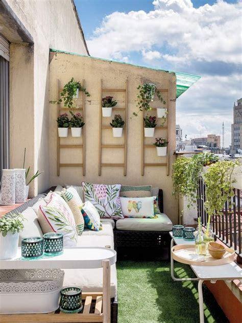 Decoración de terrazas mini, balcones y patios   Exterior