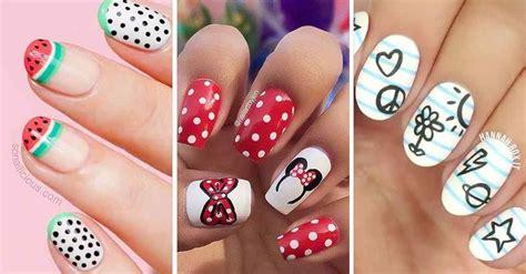 decoracion de uñas bonitas para niñas   UÑAS DECORADAS ...
