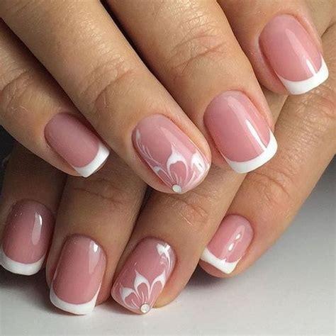 Decoración de uñas de gel francesas con vídeo paso a paso ...