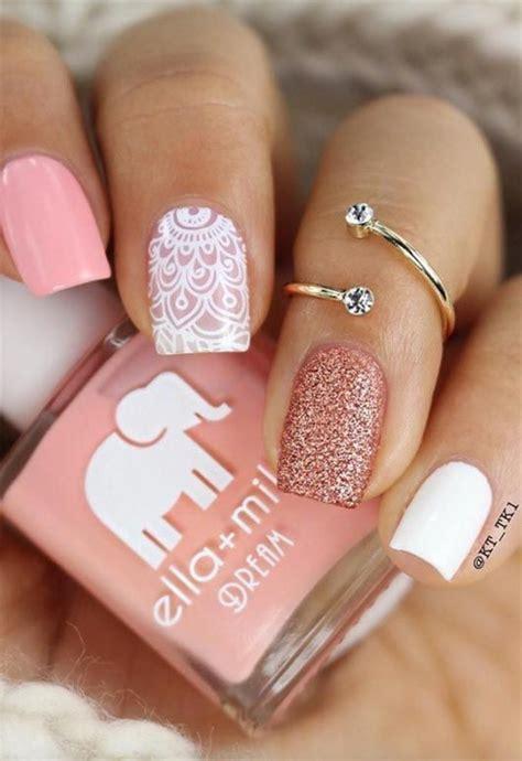 Decoración de uñas para quince años   En Pareja