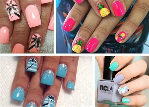 Decoración de uñas para verano   Colores, diseños e ideas
