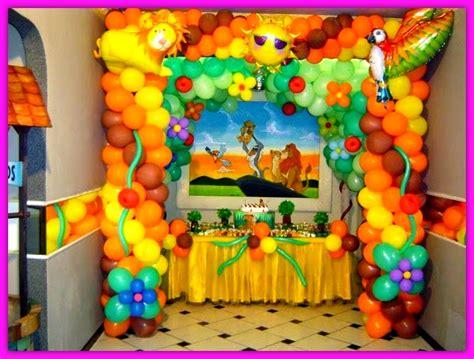 Decoracion En Globos Para Cumpleaños De Niños