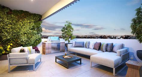 Decoración exterior: terraza y jardín   Madegar | Puertas ...