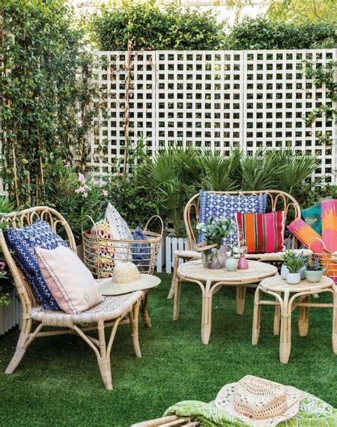 Decoración Fácil: Terraza decorada con muebles, textiles y ...