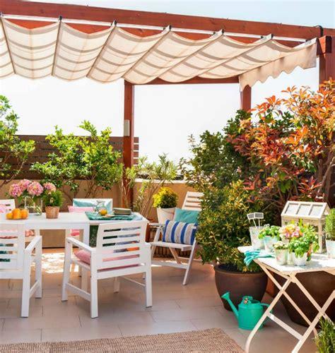 Decoración Fácil: Terraza lowcost con muebles de IKEA