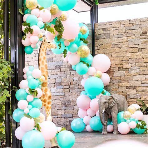 decoracion fiesta guirnalda con globos dorados 2019 4 ...