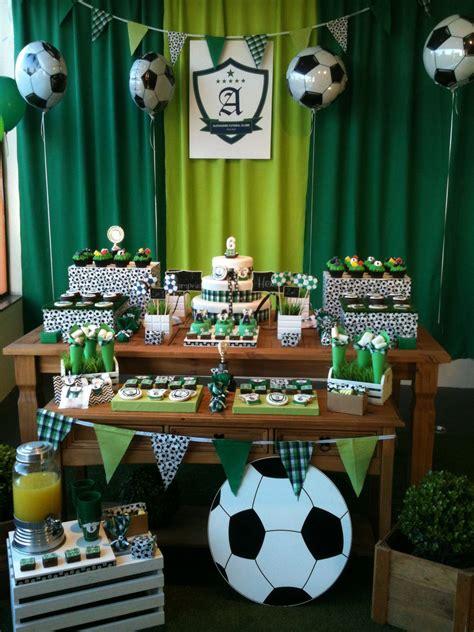 Decoracion Futbol Niña Cumpleaños 2021 ...