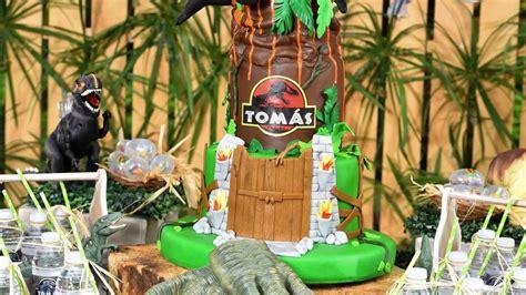 Decoracion infantil cumpleaños tematica dinosaurios   YouTube
