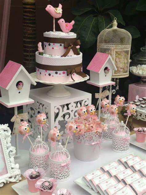 Decoracion mesa Pajaritos | Birthday Party | Baby Shower ...