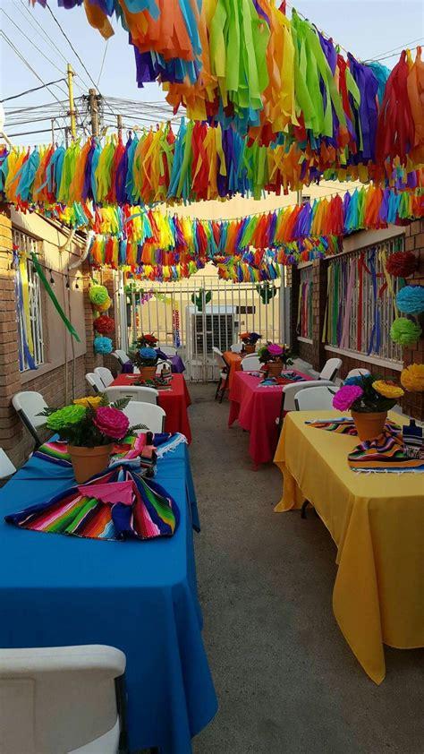 decoracion mexicana   Buscar con Google   Fiestas de ...