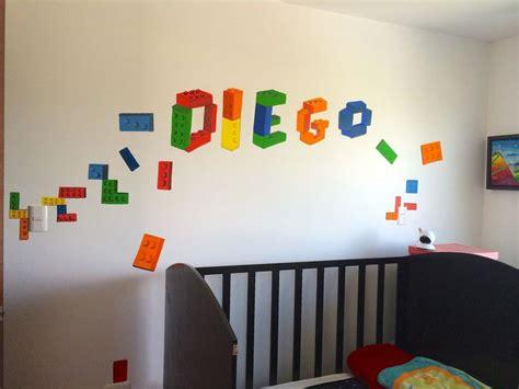 Decoración para cuarto de niños | LEGO habitacion ...
