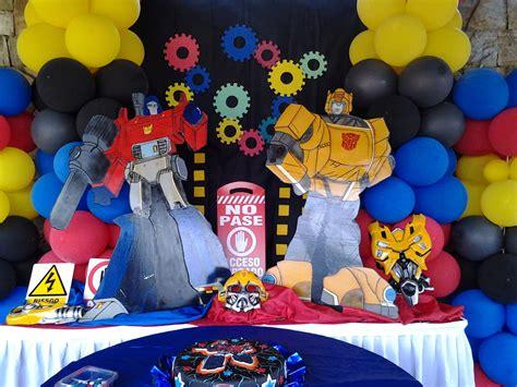 decoracion para fiesta de transformers  11    Decoracion ...