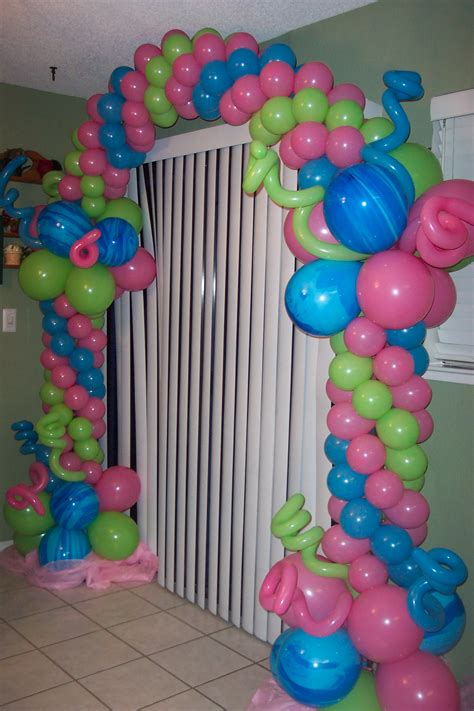 Decoración Princesas | Carruaje de globos | decoración en ...