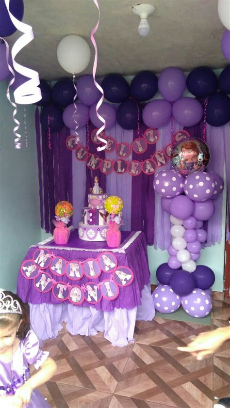 Decoracion princesita sofia | Proyectos que intentar in ...