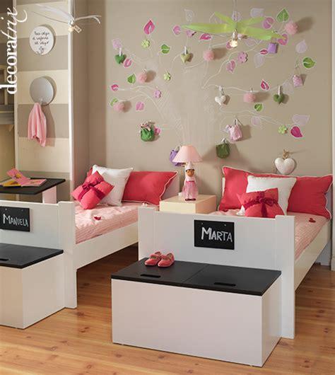 Decoración sencilla Habitación niñas | La Cajita Azul de Rocío