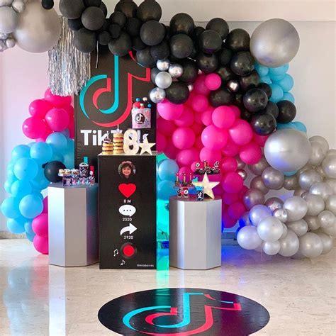 Decoración Tik Tok | Fiestas de cumpleaños para ...