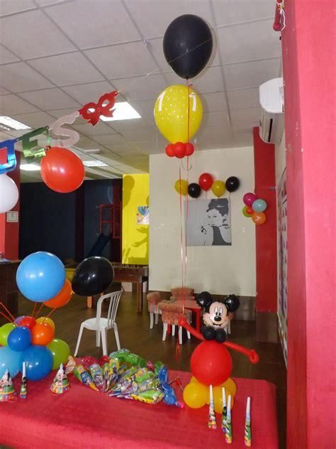 Decoraciones D glObOs!: 1º Cumpleaños de Mickey D glObOs!