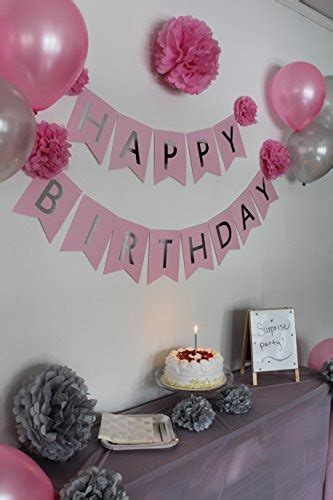 Decoraciones De Cumpleaños Para Mujeres Y Niñas, Decoraci ...