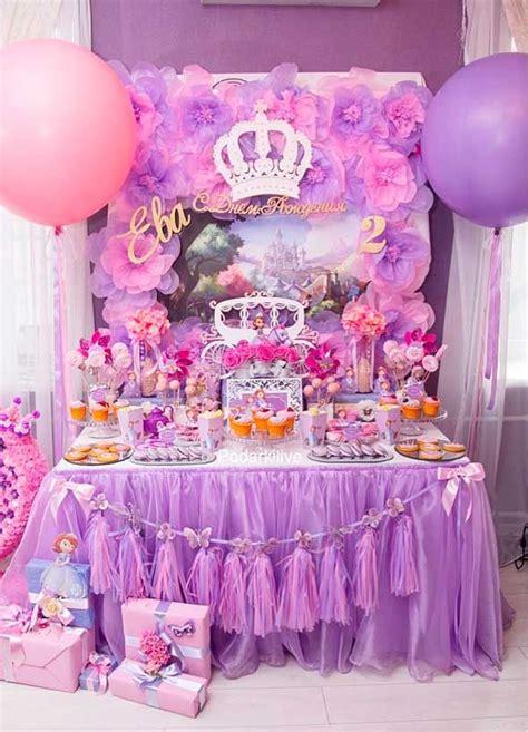 Decoraciones de Globos para Fiestas de la princesa sofia ...