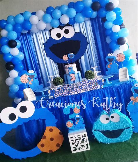 Decoraciones Infantiles #CookieMonster #Cumpleaños # ...