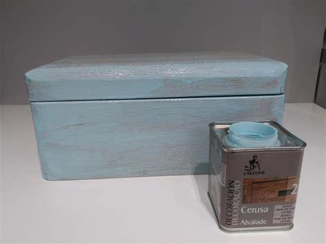 Decoramos una caja de madera con efecto decapé o cerusa ...