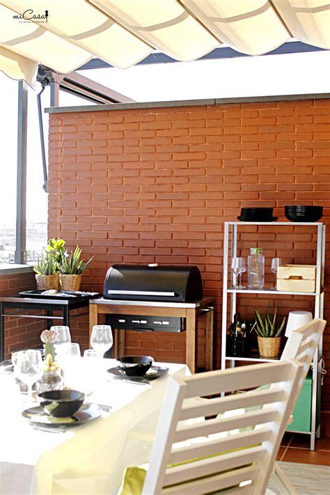Decorando la terraza de María y David con Ikea   Mi casa ...